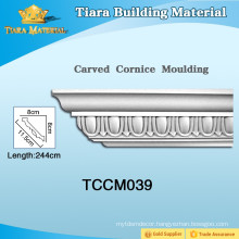High Quality PU Cornice Mouldings for Ceiling Corners