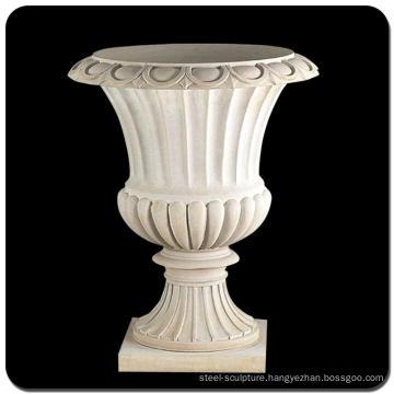 Garden decorative stone pot marble flower pots