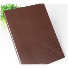 Personalización promocional del cuaderno, cuaderno de la PU del negocio