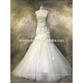 Fashion professionelle beste lange Hülse Brautkleider