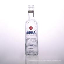 Botella de cristal impresa 700ml de la vodka Proveedores