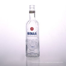 Printed 700ml Glass Vodka Bottle Suppliers