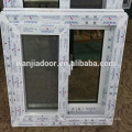 hot sale pvc profile material window with good quality and competitive price