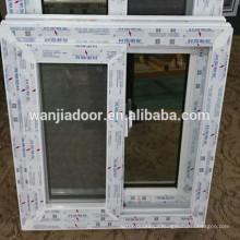 janela quente do material do perfil do pvc da venda com boa qualidade e preço competitivo
