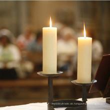Sehr preiswerte weiße einfache geriffelte Kerzen