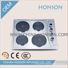 Four Burners Electric Hotplate with Good Quality