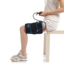 Equipamento de fisioterapia envoltório de compressão fria da coxa