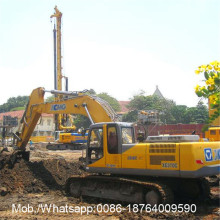 Crawler ไฮดรอลิก 0.14 Cubic Construction Excavator