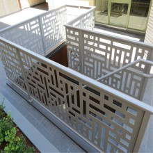 Laser Cut Metal Balcony Railing