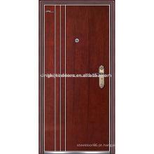 Porta de aço-madeira (JKD-219) da China marca Top KKD para quarto Interior Design