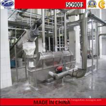 Machine de séchage de lit vibrant de métasilicate de sodium