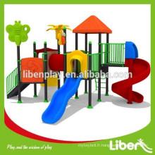 Équipement classique de terrain de jeux enfant en plein air (LE.NA.012)