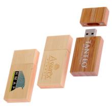 Promotional Fashion Style Wood USB Flash Drive