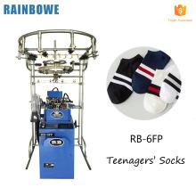 Nueva moda monocilindro jacquard circular máquina de tejer calcetín automático para producir calcetines de punto a la venta
