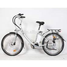 48V versteckte tragbare batterie 350W bürstenlose EN15194 elektrische fahrrad city bike mit pedalen