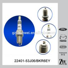 Hecho en China bujías de ignición de alta calidad 22401-53J06 BKR6EY con diferentes marcas