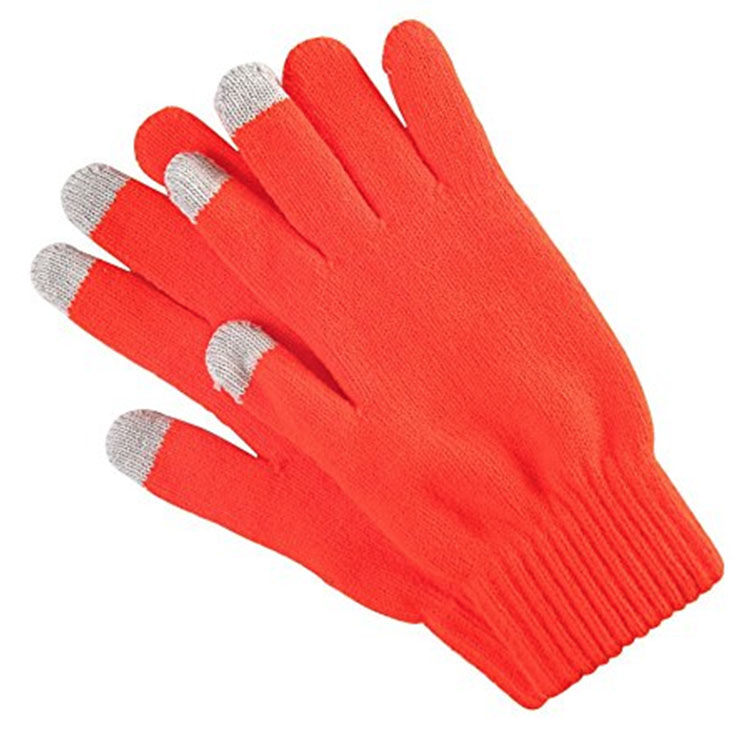 Solid Colors Knitted Gloves