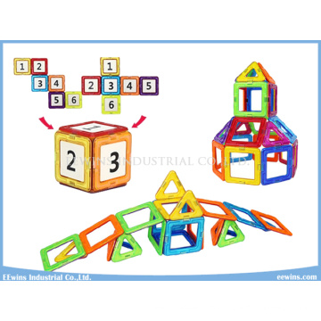 Russian Package 40PCS Educational Toys Magnetic Toys Puzzle Wisdom DIY Building Blocks Toys