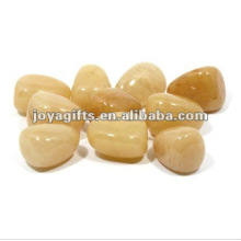 Honey Onyx Gemstone pebble stone