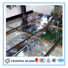 Building Envelope Colored Cyclone Resistance Laminated Glass