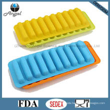 100% Food Grade Silicone Ice Mold for Popsicle Cube Tray Si13