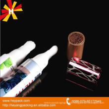 Embalaje de tubo de cepillo de plástico oval