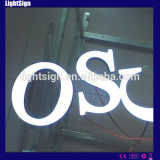 High Brightness Frontlit Resin Wall Letters