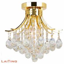 Nueva lámpara de techo de cristal que entrega la lámpara de techo llevada chandelier para el hogar