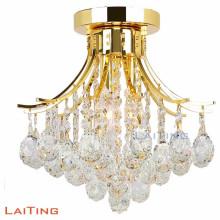 Nouvelle lampe de plafond en cristal remise lustre led plafonnier pour la maison