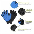 Pet Deshedding Brush Glove Great for Cats/Dogs
