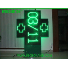 Exhibición de señal LED verde cruzada de alta calidad P20