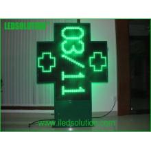 Affichage de signe vert de croix de haute qualité P20