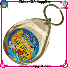 Пластиковый брелок для рекламных подарков