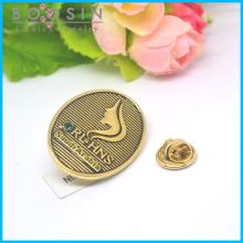 Broche de fivela de lenço feminino ouro antigo personalizado # 51177