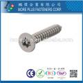 Taiwan Aço de Carbono de Alta Qualidade Aço Inoxidável Niquelar Galvanizado M3 Torx Drive Security Screw