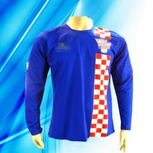 100% Polyester Man's Langarm Fußball Jersey