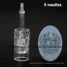 Profesional de Fábrica Directamente Venta al por mayor Derma Stamp 9 Pins Needle Cartridge