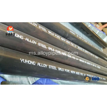 Alloy Steel Lancar Pipe ASTM A335 P22