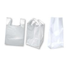 Bolsa de plástico plana de impresión PE
