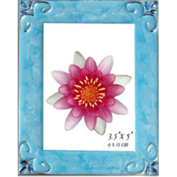Blue Top Grade Photo Frame For Office Desktop