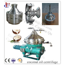 Centrifugeuse de disque complètement automatique Dourable pour l'extraction pressée à froid d'huile de noix de coco