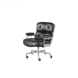 Time-Life Executive Swivel Femstjärnig Base Lounge Chair