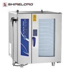 Preços competitivos de alta qualidade Aço inoxidável com economia de energia de máquinas de forno de padaria comercial