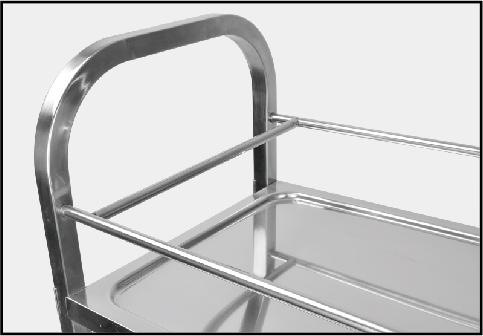 Steel Kitchen Cart