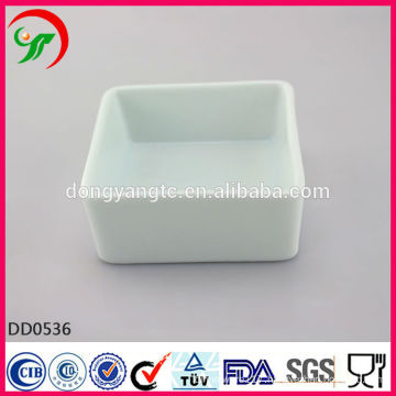 Factory direct wholesale white porcelain pet bowl,