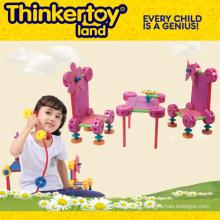 Brinquedo de construção de brinquedos de plástico para crianças