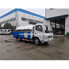 6 wheeler 8000L disposal sewage suction vehicle trucks