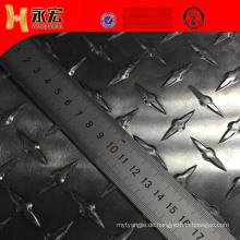 Aluminium-Bodenplatte des LKW