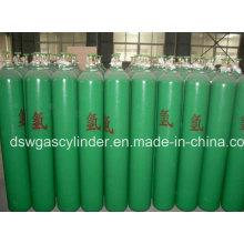 Cilindro de gás de hidrogênio padrão internacional Preço