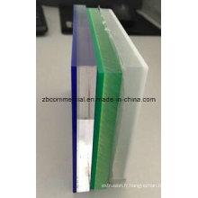 Feuille de plastique acrylique de feuille de plexiglass de feuille de PMMA
